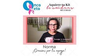 Gracias por tu apoyo Norma A. Lozano