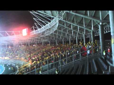 """Lobo sur pereira vs america 2014"" Barra: Lobo Sur • Club: Pereira"