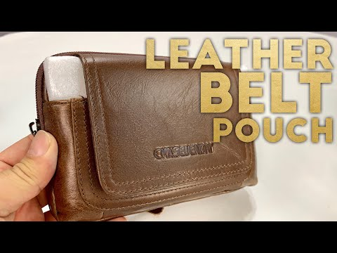 Premium Leather Belt Pouch and Phone Holster by CMXSEVENDAY Review