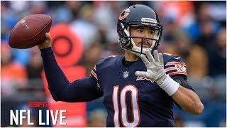 Is Matt Nagy to blame for Mitchel Trubisky's struggles as Bears quarterback? | NFL Live
