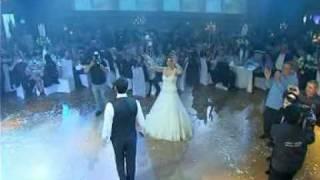 Miyvarxar Shen - Georgian song at an Israeli Wedding - მე შენ მიყვარხარ