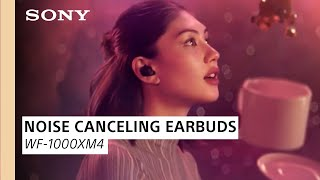 YouTube Video 0HJxJs1PH70 for Product Sony WF-1000XM4 True Wireless Headphones w/ ANC by Company Sony Electronics in Industry Headphones