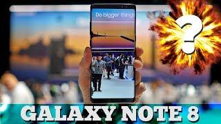 Первый взгляд на Note 8 - ВЗРЫВАЕТ? | Розыгрыш Galaxy Note 8