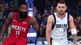 Houston Rockets vs. Dallas Mavericks - 2020 NBA First Round Playoffs! - Full Gameplay