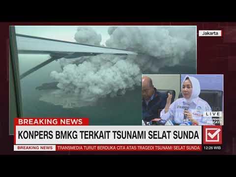 BMKG Bicara Soal Penyebab Tsunami di Selat Sunda