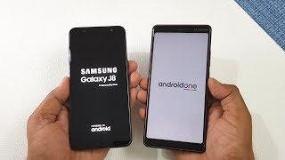 Samsung Galaxy J8 vs Nokia 7 Plus Speed Test !