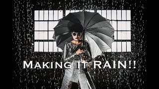 Making It RAIN!  Epic High Fashion Portraits In The Water Using Off Camera Flash- 7 Foot Parabolic