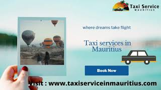 professional and reliable Taxi services in Mauritius