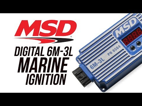 MSD Digital 6M-3L Marine Ignition