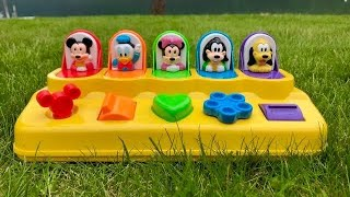 Disney MICKEY MOUSE Pop Up Pals Toys