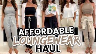 AFFORDABLE LOUNGEWEAR HAUL 2020   Walmart, Target, Forever 21 Haul  Best Budget Loungewear + Styling