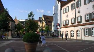 preview picture of video 'Erding Main Square'