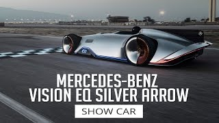 Mercedes-Benz Vision EQ Silver Arrow - Show Car