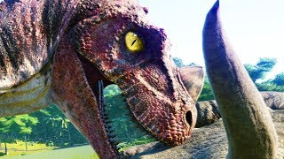 Meine Dinosaurier bekommen eine Infektion! ☆ Jurassic World Evolution