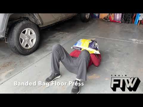 Banded Bag Floor Press