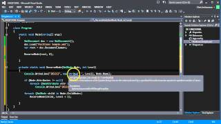 Using LINQ to query XML