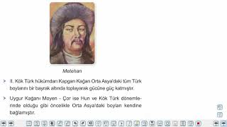 Eğitim Vadisi 9.Sınıf Tarih 10.Föy İlk ve Ortaçağlarda Türk Dünyası Konu Anlatım Videoları
