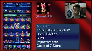 Global FFBE 7 Star Batch #1 Advice