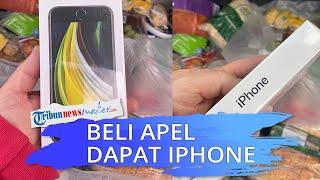 Seorang Pria Mendapat Kejutan, Beli Apel di Toko Online yang Datang Malah iPhone