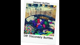 BABY PLAY: DIY DISCOVERY BOTTLES
