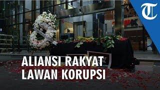 'Aliansi Rakyat Lawan Korupsi' Datangi Kantor Merah Putih KPK