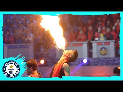 Fire Breathing World Record