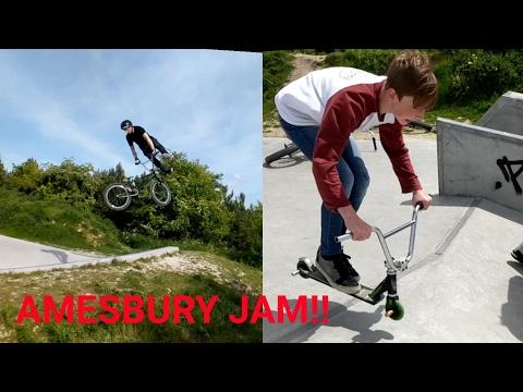 (BMX) AMESBURY BMX/SCOOTER JAM!!