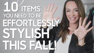 10 Effortlessy Stylish Items for Fall - Secrets of a Stylist