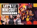 Let's Play Minecraft Dungeons - WELCOME TO THE DUNGEON!