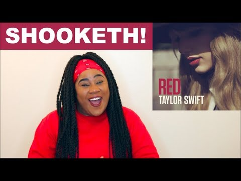 Taylor Swift - Red Album |REACTION|