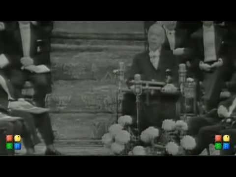 Стокгольм, 1958, вручение Нобелевской премии Б