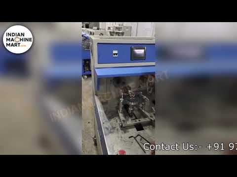 CNC Dual Drive Ceiling Fan Winding Machine