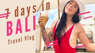 7 DAYS IN BALI: Travel Vlog