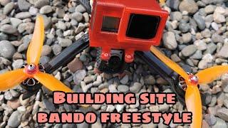 Nazgul5 HD 6S building site bando fpv freestyle flying quad tbs crossfire DJI digital Radiomaster