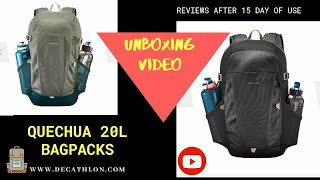 Realme x2 Pro camera Test - Unboxing of quechua 20L Bag with 10 year warranty..!