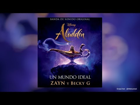 ZAYN, Becky G - Un Mundo Ideal (Audio)