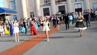 61 Флэшмоб на выпускном 2012  Лутугинский УВК  Выпускной 2012