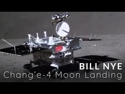 Bill Nye on the Chang'e-4 Moon Landing