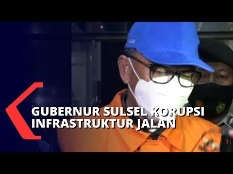 Gubernur Sulsel Tersangka Korupsi Infrastruktur Jalan