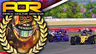 Apex Online Racing F1 2017 Highlights | Round 5 Spain