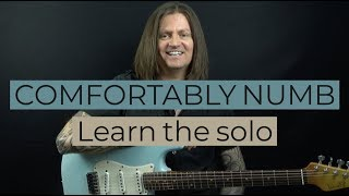 Pink Floyd Comfortably Numb Guitar Lesson - Learn The Solo In 30 Minutes With Bobby Harrison