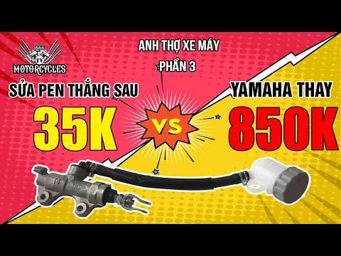 Video 160: 35k sửa pen thắng hư mà yamaha thay 850 | Motorcycles TV