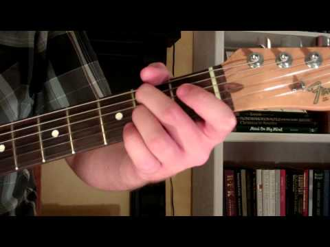 How To Play the E7sus4 Chord On Guitar (E 7th suspended 4th)