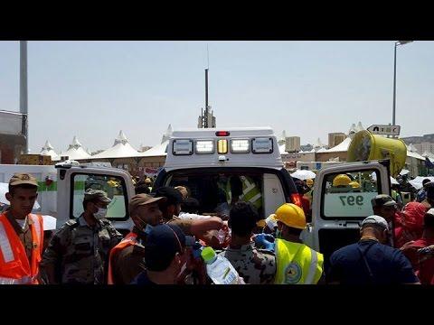 Hundreds killed and injured in Haj stampede