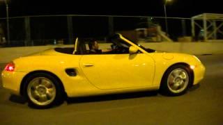 Chef Hiro Terada Cruising in his Porsche to South Beach