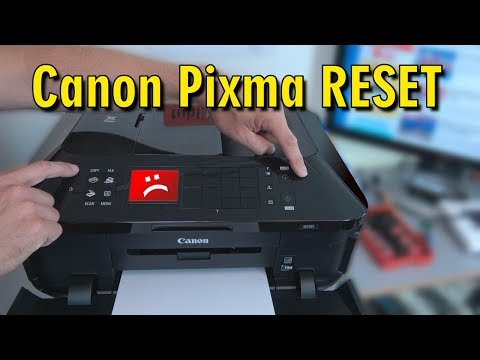 Cannon G2000 support code : 5200 , 5B00 solved || easy way to reset