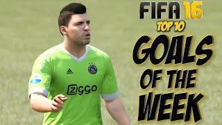 FIFA 16 - Top 10 Goals Of The Week #5