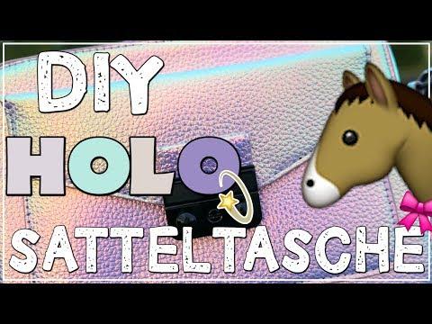 DIY Holo Satteltaschen ✮ ohne Vorkenntnisse selbst gemacht!