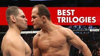 10 Best Trilogies In MMA