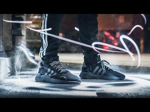 online store 720ad 51fa6 Foot Locker Canada x Adidas Nite Jogger  Unboxing   On-Feet